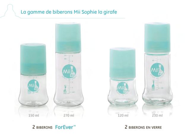 Biberons Mii Sophie La Girafe 1