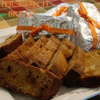Butterscotch Pear Bread