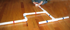 PVC Pipe Assembly