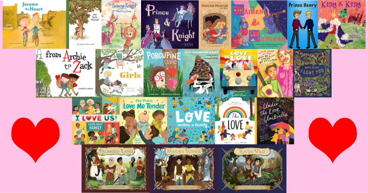 Valentine's Day - LGBTQ Kids Books with a Theme of Love