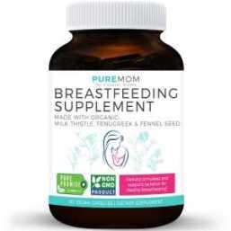 pure moms organic breastfeeding supplement