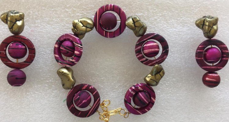 Bracelets with matching earrings