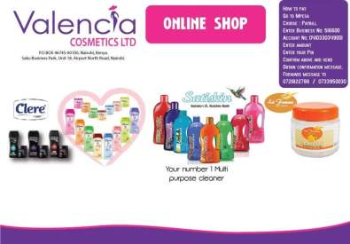 VALENCIA COSMETICS LTD