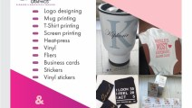 FOR ALL YOUR DESIGN, PRINTING AND BRANDING NEEDS