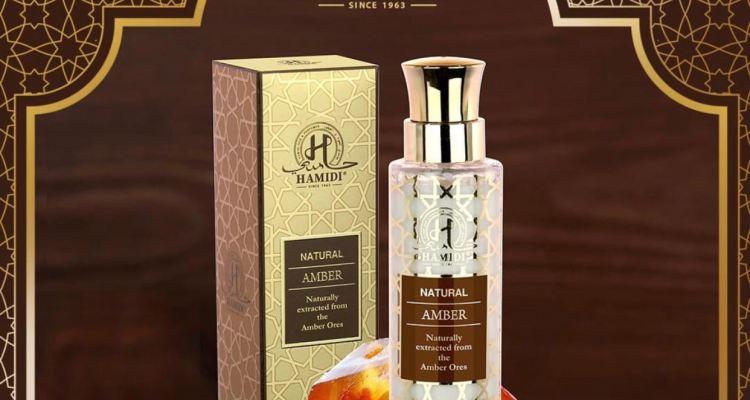 HAMIDI NATURAL AMBER WATER PERFUME