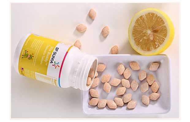 Kids vitamin chewable tablets