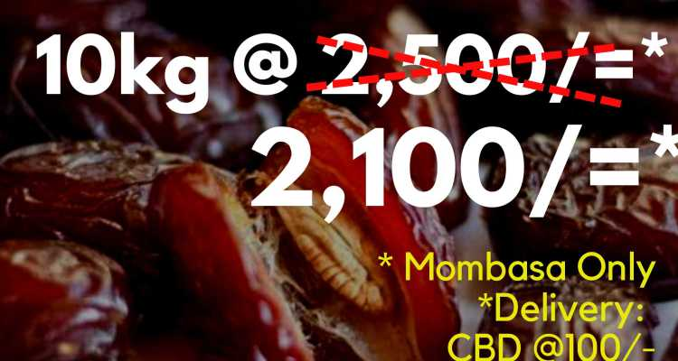 Ramadhan Offer – Mombasa Only