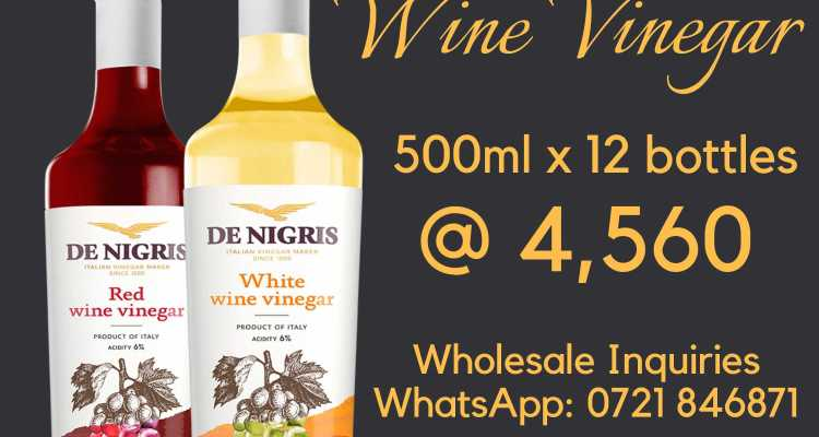 Vinegars – Red and White Wine