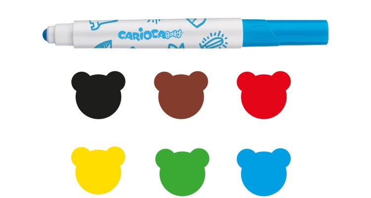 Carioca Baby Markers – Box of 6