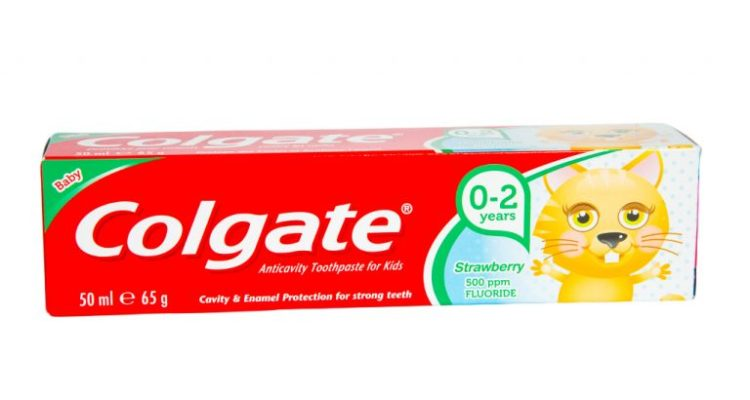 Colgate Toothpaste (Kids 0-2 years) Strawberry 50ml