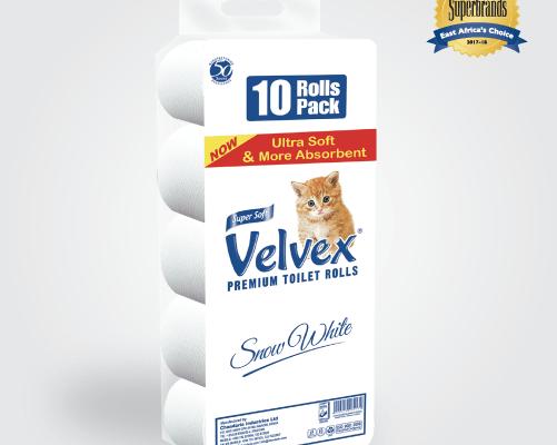 Velvex Toilet Tissue – 2PLY