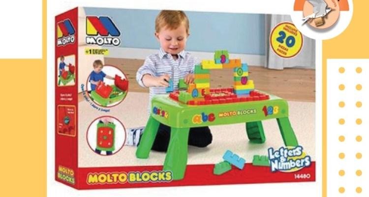 MOLTO BLOCKS TABLE
