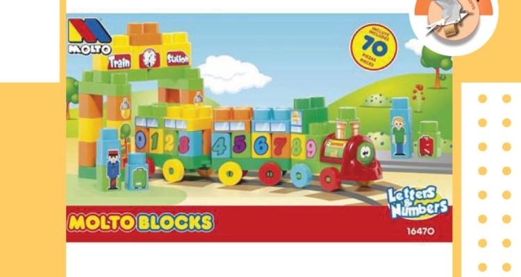 MOLTO BLOCKS TRAIN
