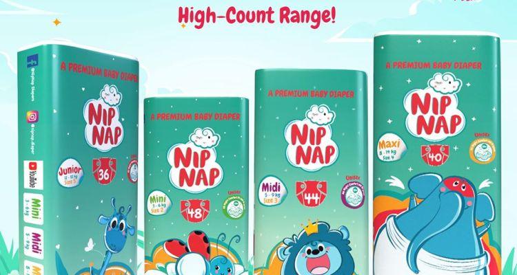 NipNap Baby Diapers