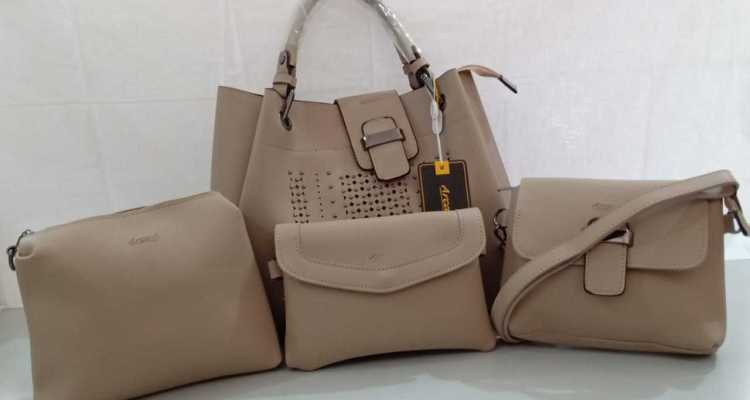 Ladies handbags selection