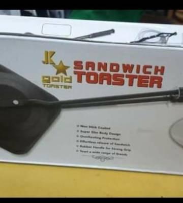 Hard Anodized Sandwich Toaster