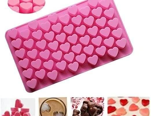55 Mini Hearts Silicone Molds