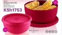 Tupperware Blossom Bowl Set