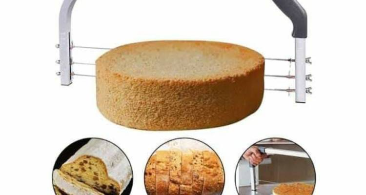 Large Cake Cutter Interlayer 3 Blade Leveller Slicer Industry Standard Leveler