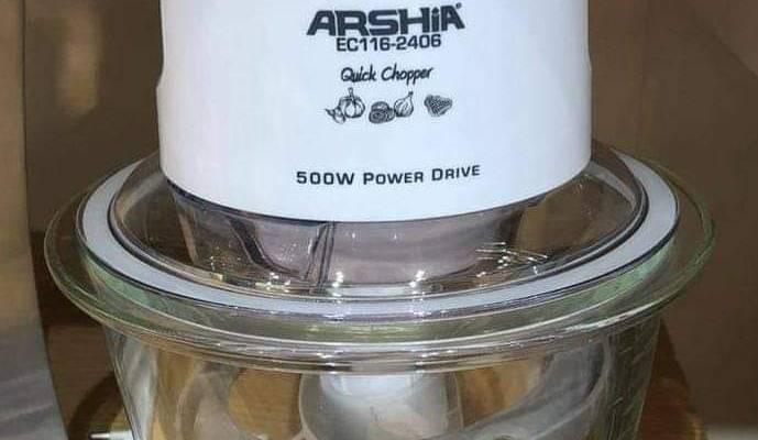 Arshia Electric Chopper