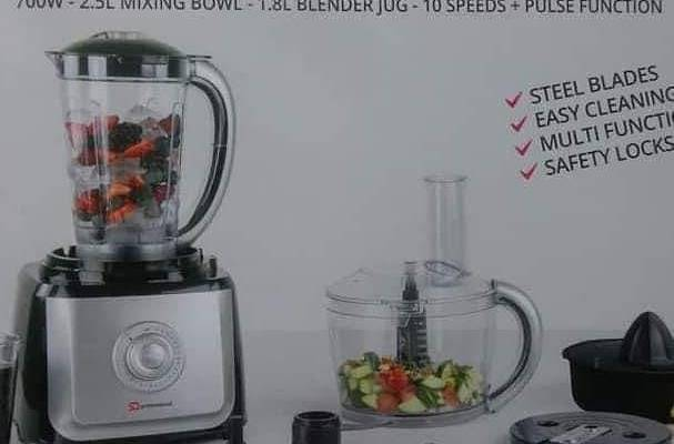 SQ Professional 2 in 1 Food Processor