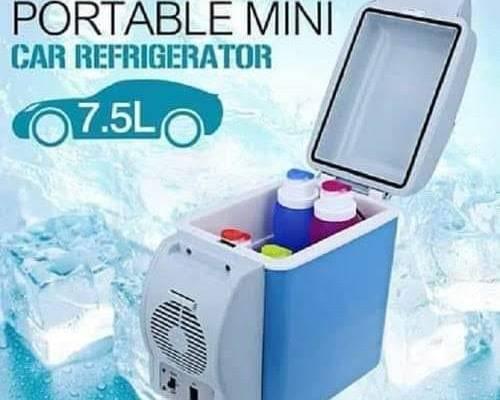 7.5L Portable Mini Car Fridge Freezer Cooler