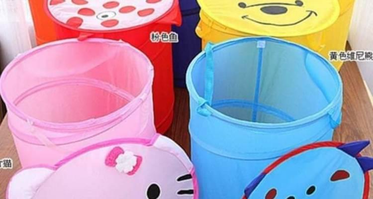 Multipurpose waterproof canvas Laundry basket