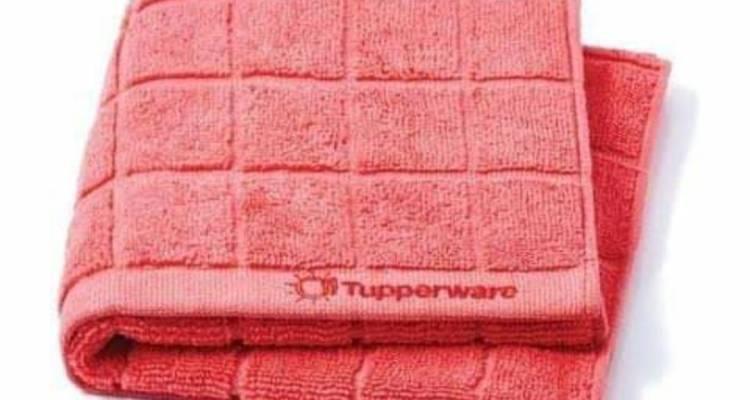Tupperware Microfiber Dish Drying Towel. (63 cm x 37 cm)
