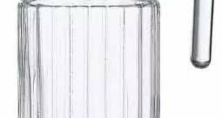Luminarc Quadro Fridge Jug – White Lid, 0.5 Ltr