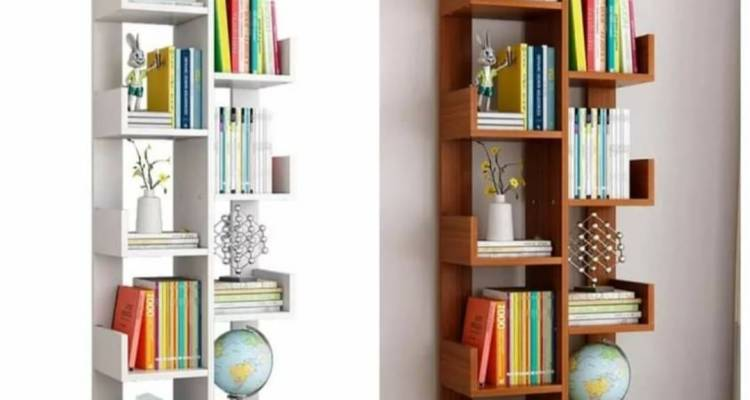 Tree bookshelf multi-purpose decor shelf