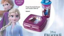 Tupperware Disney Frozen Sandwich Keeper and Tumbler (330ml)