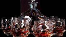 Decanter size 800ml + 6 x 350 ml whisky glasses