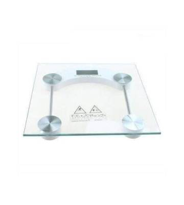 Sterling Digital LCD Electronic Bathroom Scale Body Weight Weighing Scale – Tempered glass platform