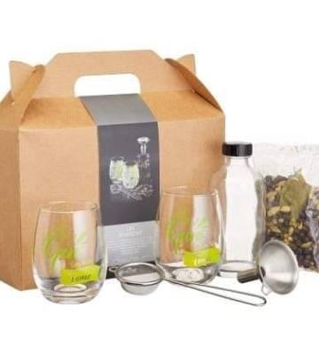 Barcraft Gin Making Kit in Gift Box, Glass