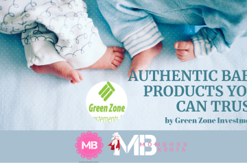 AUTHENTIC BABY PRODUCTS YOU CAN TRUST – By Green Zone Investments