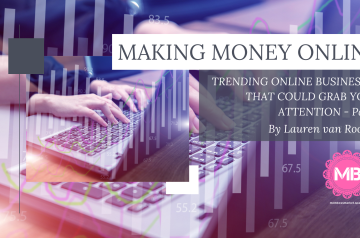 TRENDING ONLINE BUSINESSES THAT COULD GRAB YOUR ATTENTION – Part 1 – By Lauren van Rooyen