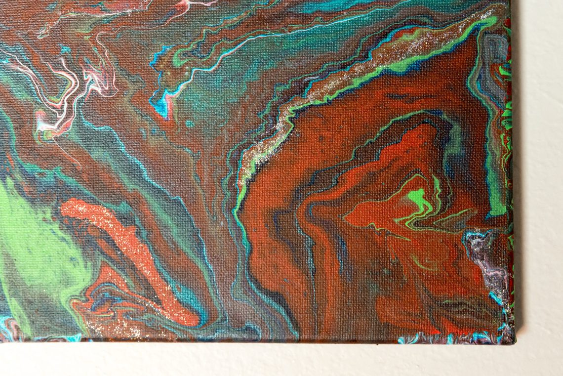 How to do an acrylic pouring or paint pouring