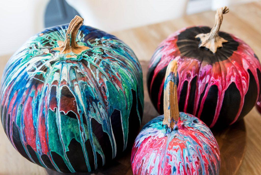 Fun Pumpkin Painting Idea