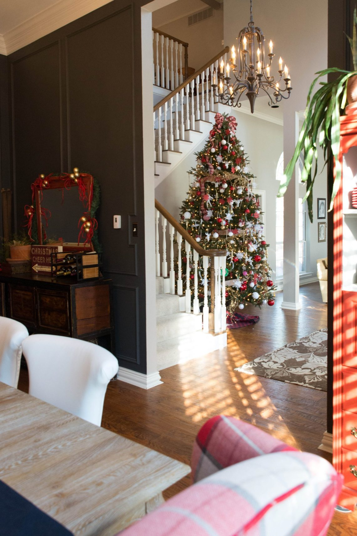 Christmas House Tour Home Decor And Home Improvement Diy