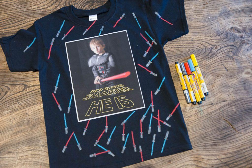 100 Days o School T-Shirt Idea