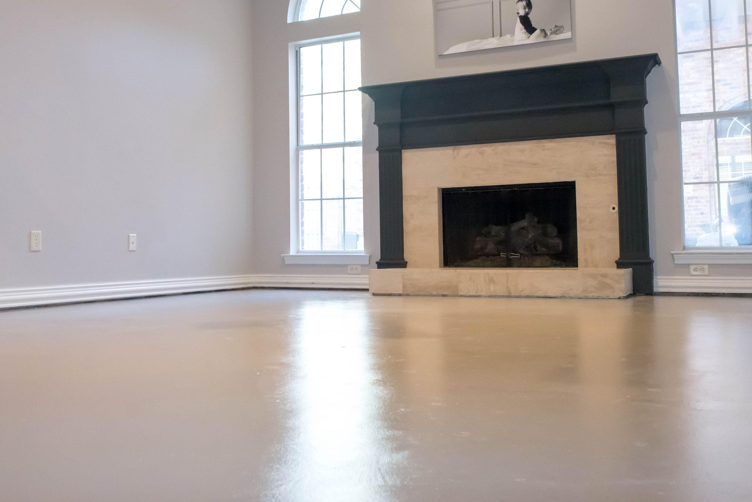 How To Paint Concrete Floors Home Decor And Home Improvement Diy Tutorials