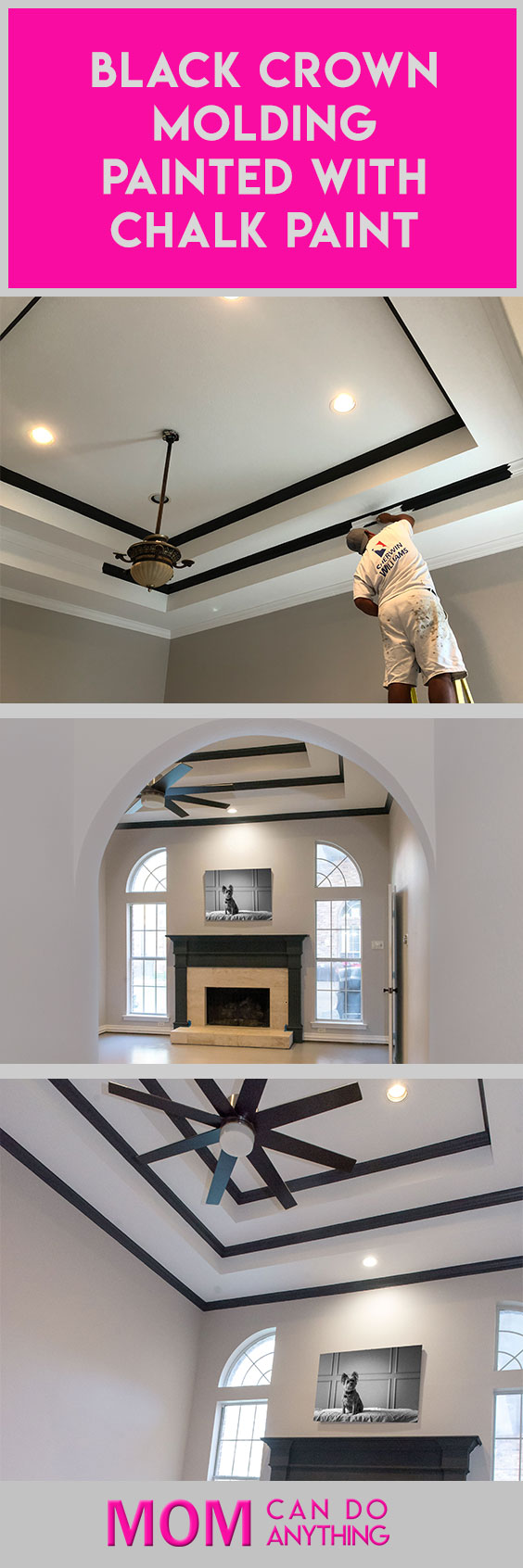 Black-Crown-Molding