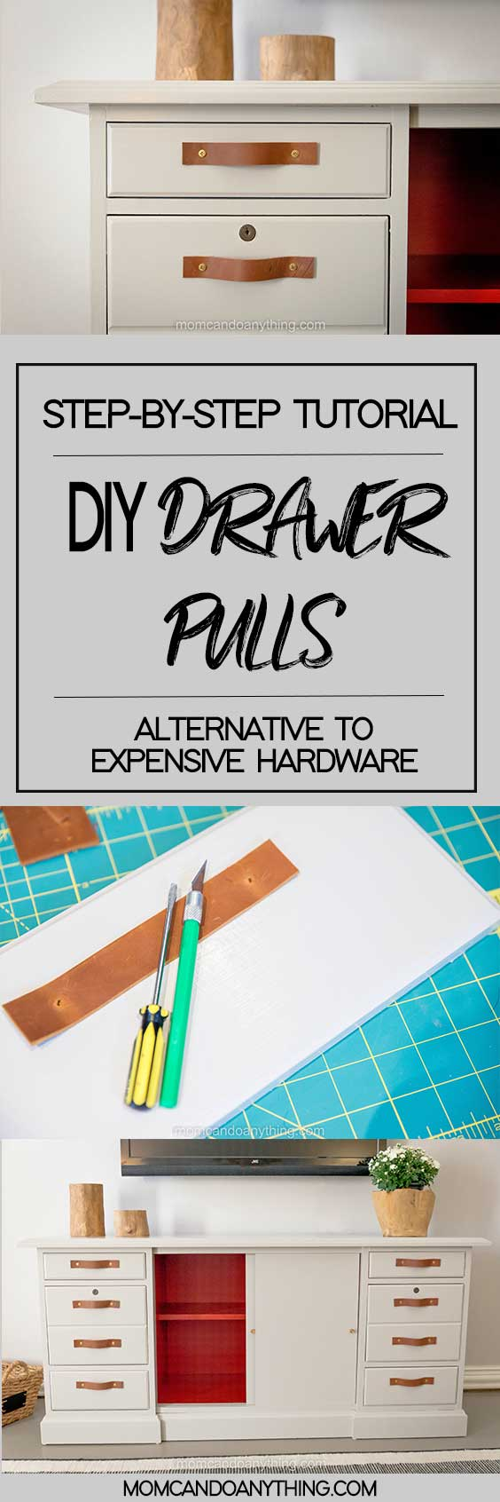 DIY Drawer Pulls