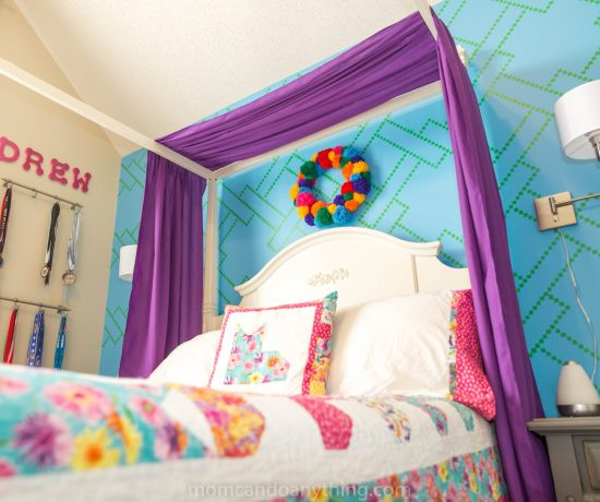Teen Girl bedroom reveal