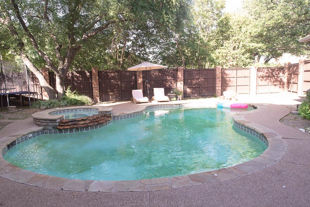 Swimming Pool Before Pic