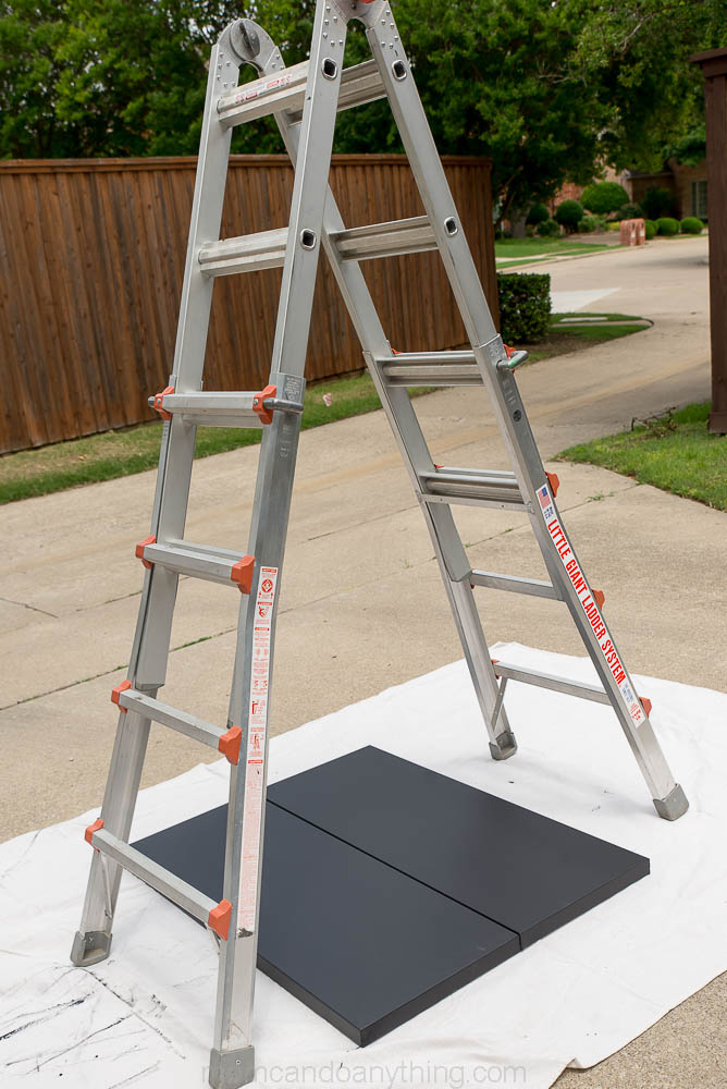 pendulum painting set up