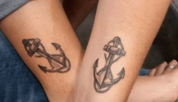 Mother And Son Matching Tattoos Mother Son Tattoos Mother