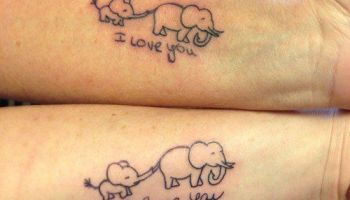 Mother Daughter Matching Bows - Mother Daughter Tattoos - Mother ...
