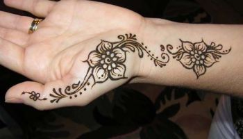 Chic Arabic Mehndi Design For Front Hands Front Hand Arabic Mehndi