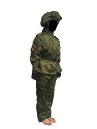 160cm女(VKBOベルト+6B7-1Mヘルメット+パッチ)